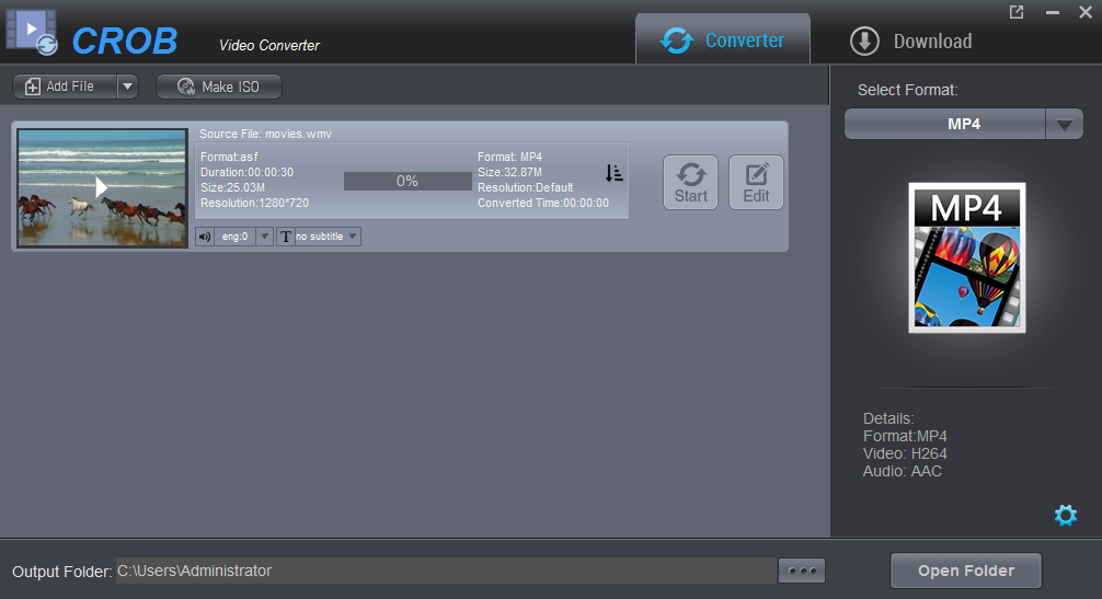Dashen Video Converter